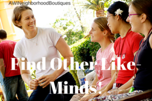 Find Other Like-Minds!