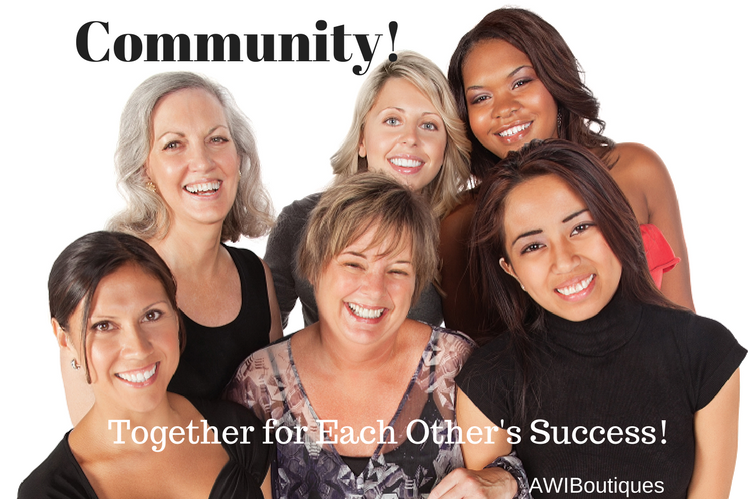 Business Women in Community